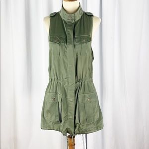 Banana Republic Heritage Olive Utility Dress